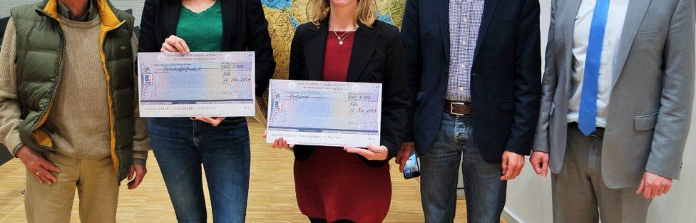 Ausschreibungen Dr. Hohmann Förderung und Dr. Prill-Preise 2020